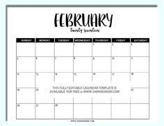free printable fully editable 2017 calendar templates in word