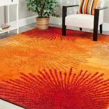 Area Rugs Orange Zipcode Design Freda Rust Orange Area Rug Reviews Wayfair