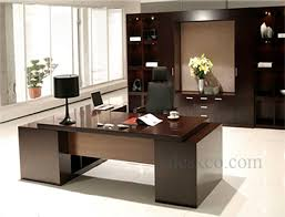 Office Desk With Cabinets Executive Office Furniture And Desk Edeskco