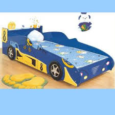 Blue Car Bed Wholesale Jumping Bed For Kids Products Okorder Com