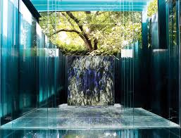 Contemporary Indoor Water Fountains by Public Fountain Garden Indoor Contemporary Photographic