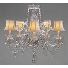 harrison lane 5 light crystal chandelier harrison lane 5 light crystal chandelier chandeliers and products