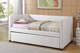 White Trundle Daybed Size Trundle Daybed Apoc By Fashionable Trundle