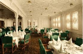 Titanic First Class Dining Room | first class dining saloon titanic wiki fandom powered by wikia