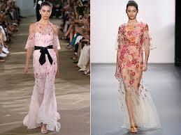 fashionable women dresses spring summer 2017 trends