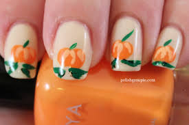 nail art pumpkin nail art designspumpkin designs halloween ideas