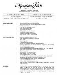 hotel front desk manager job description resume position examples sample agent bunch