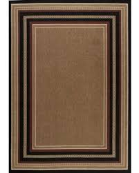 fall is here get this deal on indoor outdoor area rug hampton