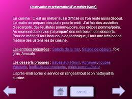 rapport de stage 3eme cuisine restaurant le chalet rapport de stage de gayette alena 3ème 5