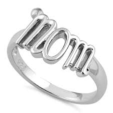 silver mothers ring sterling silver ring