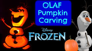 pumpkin carving olaf disney frozen pumpkin carving ideas halloween