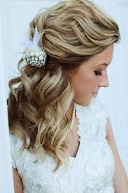 half up half down wedding hairstyles u2013 50 stylish ideas for brides