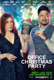 new u0027office christmas party u0027 poster featuring randall park