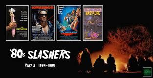 horror movie podcast ep 103 the 1980s slasher film movement part