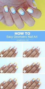 easy nail art tutorial cyprus inspired