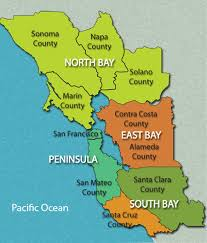 san francisco map east bay about beeline glass we serve the greater bay area