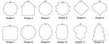 custom ornament shapes kjar photography