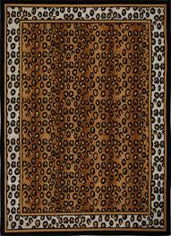 Leopard Cowhide Rug Modern Leopard Animal Print Area Rug 8x11 Zebra Safari Carpet