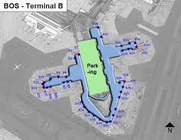 haircut boston airport boston logan airport bos terminal b map