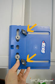 kreg cabinet hardware jig how to install knobs and pulls on cabinets and furniture h20bungalow