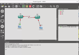 tutorial gns3 linux gns3 emulating network infrastructure on debian 8 2
