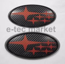 cool subaru logos subaru emblem ebay