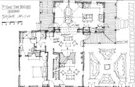 Houzz Floor Plans by Floor Plan Rendering Drawing Hand Project Massena Modern Has A