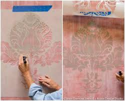 Texture Paints Designs - how to stencil texture stenciling a textured fabric finish
