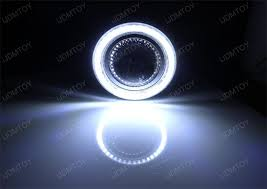 led angel eye halo rings projector fog lights assembly hid ready