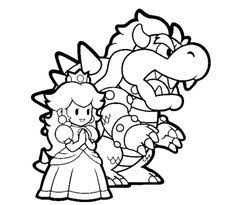 printable coloring pages wii super mario galaxy coloring