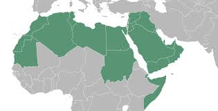 arab countries map blank map of arab world travel maps and major tourist