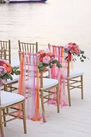 Colourful Ribbon Canopy Wedding Reception 1950s glamour meets bright and colourful british country fete