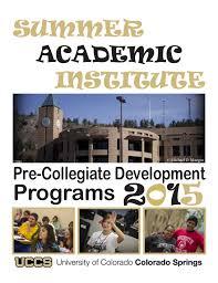 yearbook programs uccs pre collegiate summer academic institute 2015 yearbook