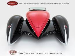delahaye bugnaughty a modern art deco dream car 95 octane
