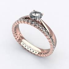 bagues de fian ailles parure de mariage diamants et or lery