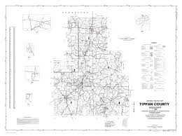 Counties In Tennessee Map by Tippah County Mississippi Genealogy Msgenweb