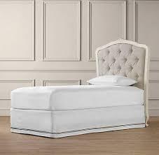 Restoration Hardware Bunk Bed Tufted Headboard Beds Bunk Beds Restoration Hardware Baby