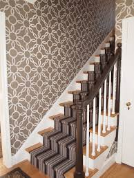 staircase wallpaper designs staircase contemporary with lime green