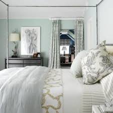 anna linen curtains reference idea for beach style bedroom with