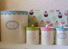 cupcake canisters for kitchen cupcake design salt and pepper shaker cupcakes and cupcake