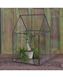 homart pierre house glass terrarium large areohome