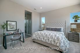 White Master Bedroom Master Bedroom Model Home Staging Moving Mountains Design Los