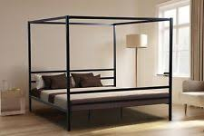 canopy bed frame ebay