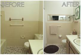 Before After Bathroom Makeovers - from ohio to oahu how i turned my apartment bathroom into a