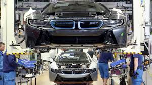 bmw car maker the bmw i8 production