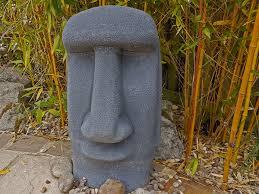 easter island garden statue rogers gardenstone