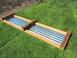 raised vegetable garden beds corrugated iron ktactical decoration