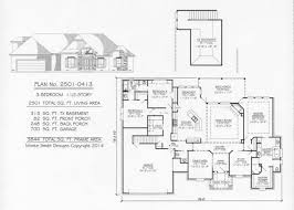 1 5 Car Garage Plans 3 Bedrooms 1 Story 2201 2700 Square Feet