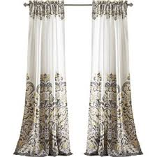 Kitchen Kitchen Curtain Sets Standard by Paisley Curtains You U0027ll Love Wayfair