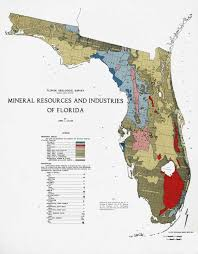 Cities In Florida Map by Florida U0027s Phosphate Fields And Business A Brief History